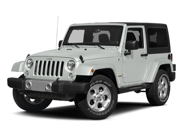 Bright White Clearcoat 2014 Jeep Wrangler Pictures Wrangler Utility 2D Rubicon 4WD V6 photos front view