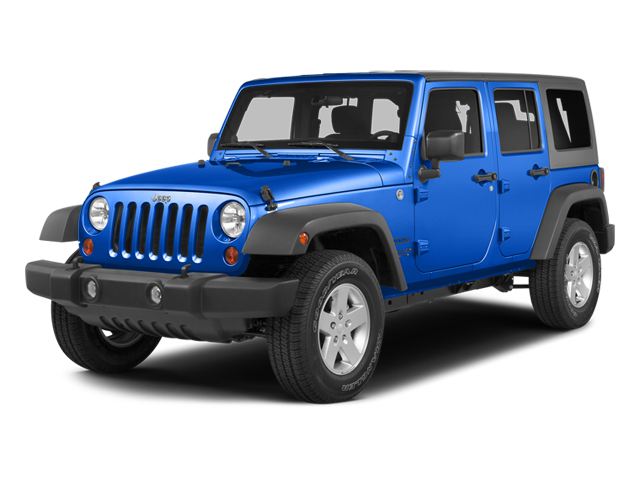 Hydro Blue Pearl Coat 2014 Jeep Wrangler Unlimited Pictures Wrangler Unlimited Utility 4D Unlimited Sahara 4WD V6 photos front view