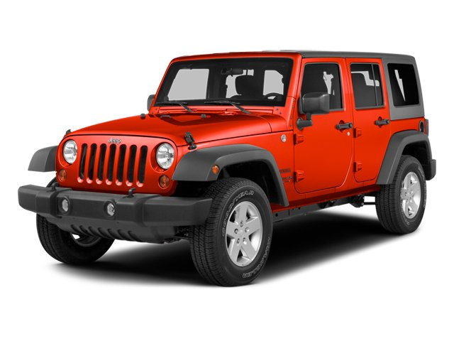 Firecracker Red Clear Coat 2014 Jeep Wrangler Unlimited Pictures Wrangler Unlimited Utility 4D Unlimited Altitude 4WD V6 photos front view