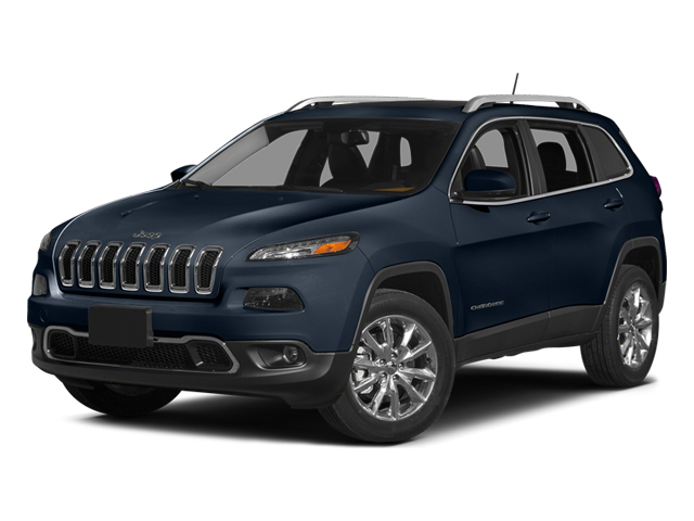 True Blue Pearlcoat 2014 Jeep Cherokee Pictures Cherokee Utility 4D Limited 4WD photos front view