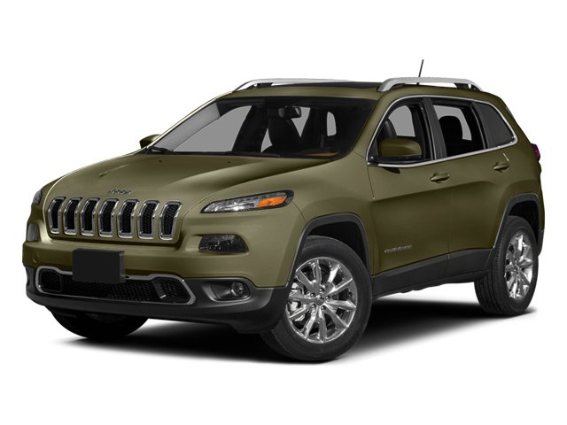 Eco Green Pearlcoat 2014 Jeep Cherokee Pictures Cherokee Utility 4D Limited 2WD photos front view