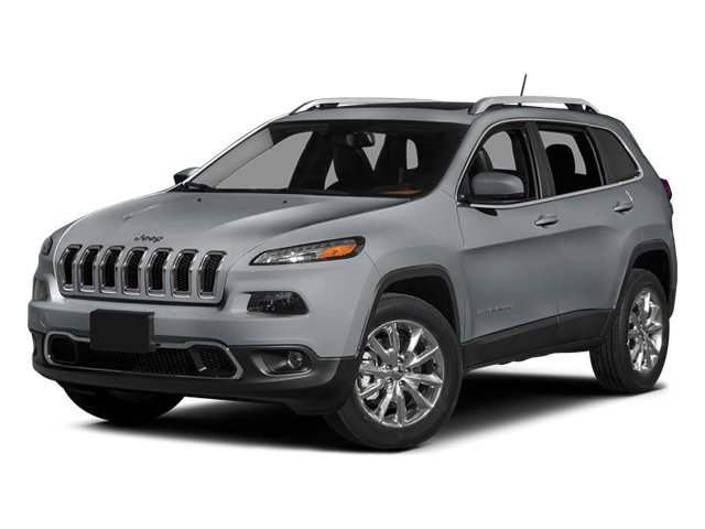 Billet Silver Metallic Clearcoat 2014 Jeep Cherokee Pictures Cherokee Utility 4D Limited 4WD photos front view