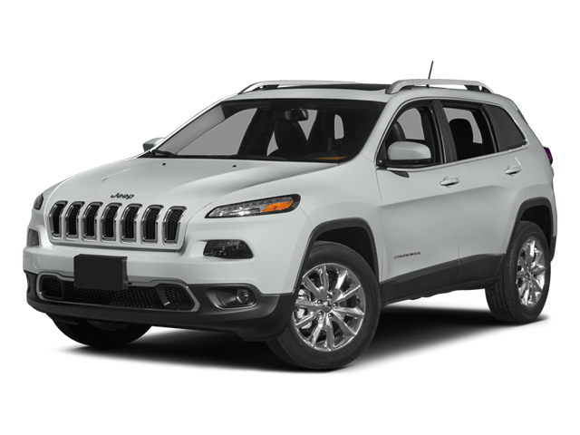Bright White Clearcoat 2014 Jeep Cherokee Pictures Cherokee Utility 4D Limited 4WD photos front view