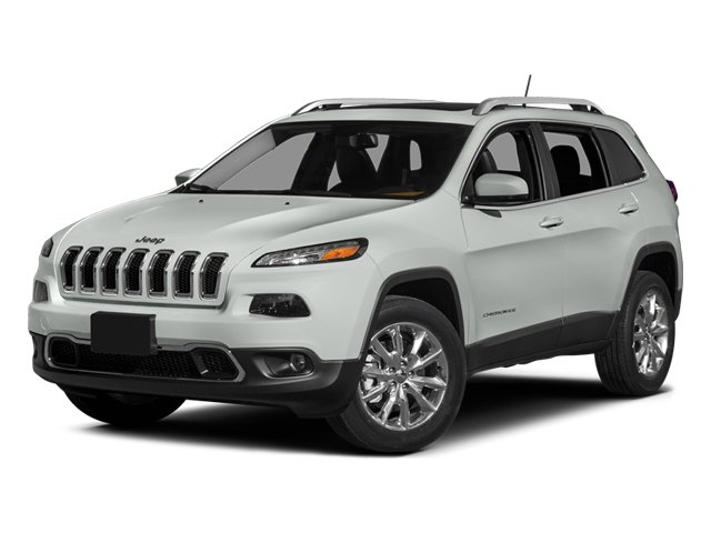 Bright White Clearcoat 2014 Jeep Cherokee Pictures Cherokee Utility 4D Limited 2WD photos front view