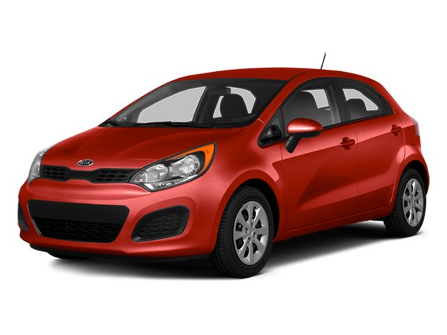Signal Red 2014 Kia Rio Pictures Rio Hatchback 5D SX I4 photos front view