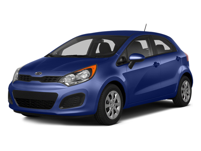 Electronic Blue 2014 Kia Rio Pictures Rio Hatchback 5D SX I4 photos front view