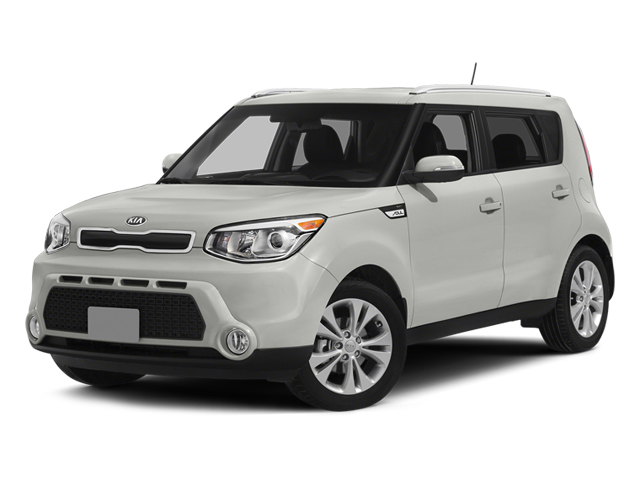 Clear White 2014 Kia Soul Pictures Soul Wagon 4D + I4 photos front view