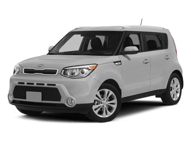 Bright Silver 2014 Kia Soul Pictures Soul Wagon 4D + I4 photos front view