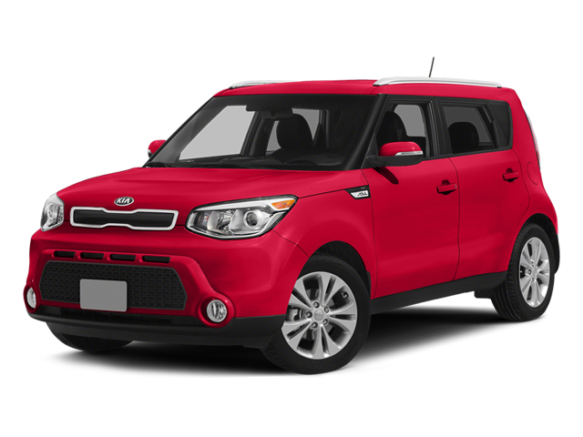 Inferno Red 2014 Kia Soul Pictures Soul Wagon 4D + I4 photos front view
