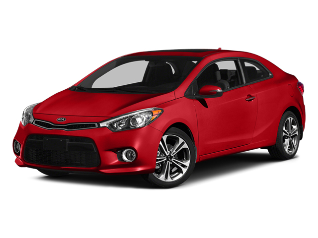 Racing Red 2014 Kia Forte Koup Pictures Forte Koup Coupe 2D SX I4 photos front view
