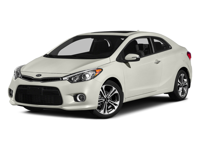 Snow White Pearl 2014 Kia Forte Koup Pictures Forte Koup Coupe 2D EX I4 photos front view