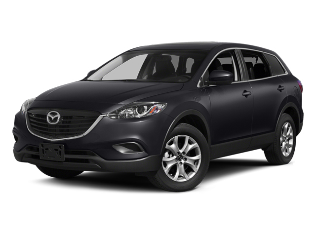 Meteor Gray Mica 2014 Mazda CX-9 Pictures CX-9 Utility 4D Touring 2WD V6 photos front view