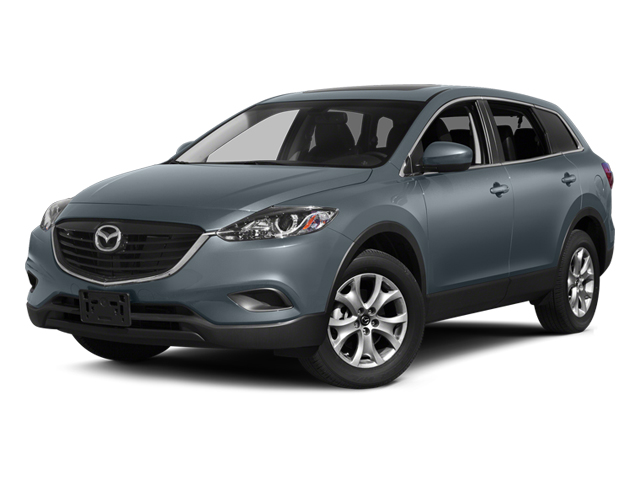 Blue Reflex Mica 2014 Mazda CX-9 Pictures CX-9 Utility 4D Touring 2WD V6 photos front view