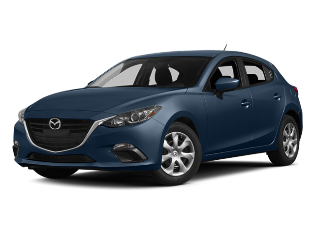 Blue Reflex Mica 2014 Mazda Mazda3 Pictures Mazda3 Wagon 5D i Touring I4 photos front view