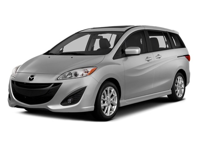 Liquid Silver Metallic 2014 Mazda Mazda5 Pictures Mazda5 Wagon 5D Sport I4 photos front view
