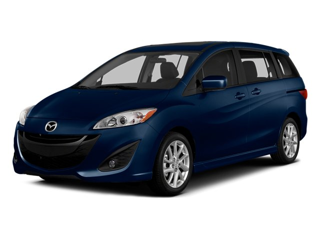 Deep Crystal Blue Mica 2014 Mazda Mazda5 Pictures Mazda5 Wagon 5D Touring I4 photos front view