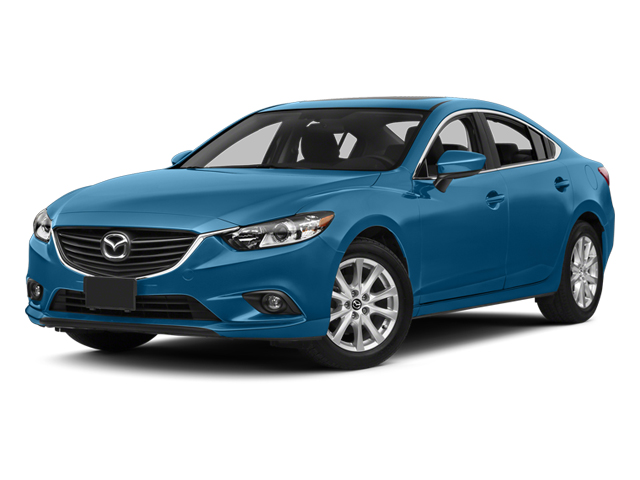 Blue Reflex Mica 2014 Mazda Mazda6 Pictures Mazda6 Sedan 4D i Touring Tech I4 photos front view