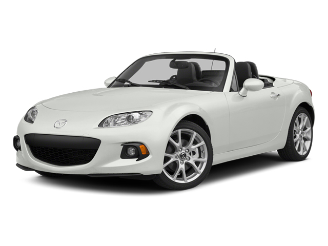 Crystal White Pearl 2014 Mazda MX-5 Miata Pictures MX-5 Miata Convertible 2D GT I4 photos front view