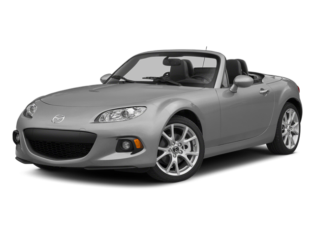 Liquid Silver Metallic 2014 Mazda MX-5 Miata Pictures MX-5 Miata Convertible 2D Sport I4 photos front view
