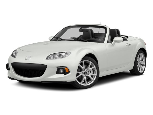 Crystal White Pearl 2014 Mazda MX-5 Miata Pictures MX-5 Miata Convertible 2D Club I4 photos front view