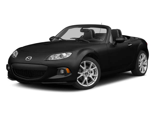 Jet Black 2014 Mazda MX-5 Miata Pictures MX-5 Miata Convertible 2D Sport I4 photos front view