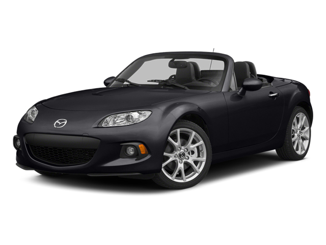 Meteor Gray 2014 Mazda MX-5 Miata Pictures MX-5 Miata Convertible 2D GT I4 photos front view