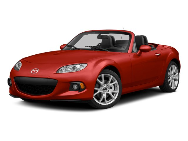 True Red 2014 Mazda MX-5 Miata Pictures MX-5 Miata Convertible 2D Club I4 photos front view
