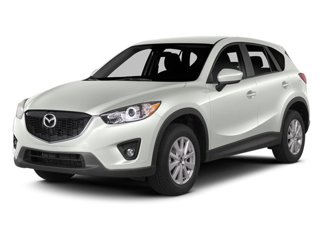 Crystal White Pearl Mica 2014 Mazda CX-5 Pictures CX-5 Utility 4D GT AWD I4 photos front view