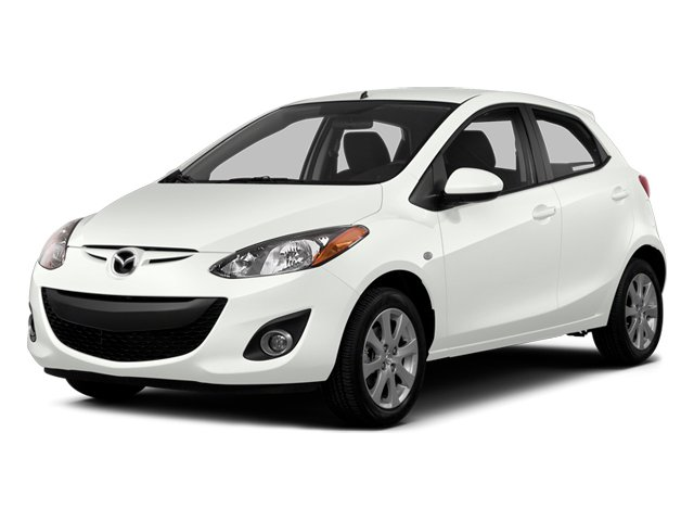 Crystal White Pearl 2014 Mazda Mazda2 Pictures Mazda2 Hatchback 5D Sport I4 photos front view