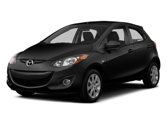 Jet Black 2014 Mazda Mazda2 Pictures Mazda2 Hatchback 5D Sport I4 photos front view