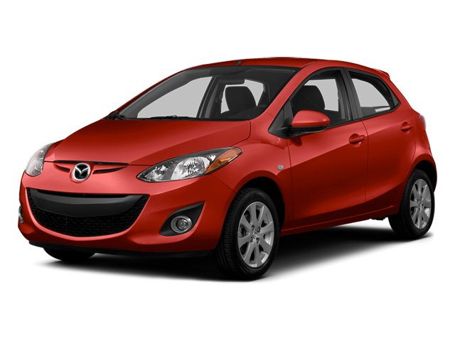 True Red 2014 Mazda Mazda2 Pictures Mazda2 Hatchback 5D Sport I4 photos front view