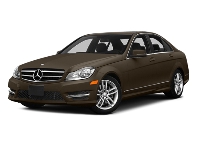 Dolomite Brown Metallic 2014 Mercedes-Benz C-Class Pictures C-Class Sedan 4D C300 AWD photos front view