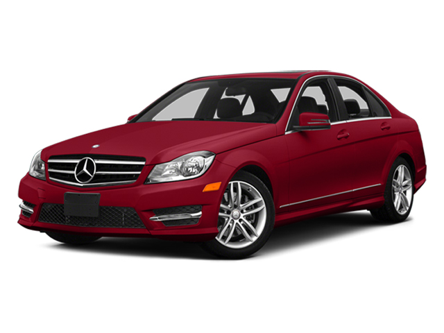 Mars Red 2014 Mercedes-Benz C-Class Pictures C-Class Sport Sedan 4D C300 AWD photos front view
