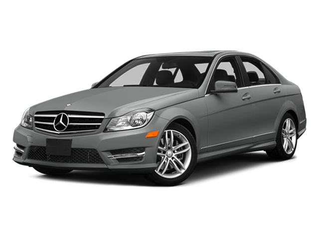 Palladium Silver Metallic 2014 Mercedes-Benz C-Class Pictures C-Class Sedan 4D C300 AWD photos front view