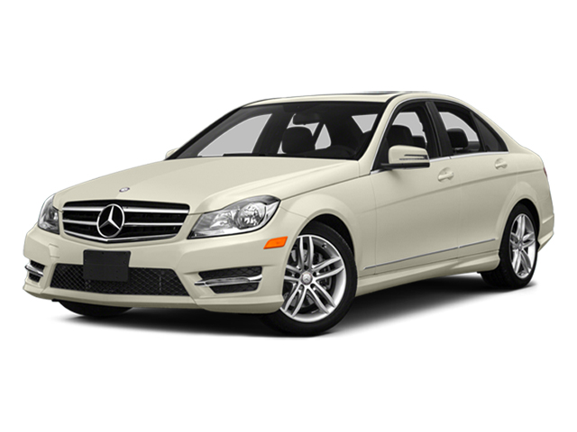 Diamond White Metallic 2014 Mercedes-Benz C-Class Pictures C-Class Sedan 4D C300 AWD photos front view