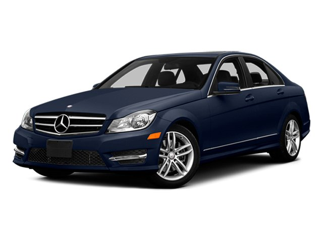 Lunar Blue Metallic 2014 Mercedes-Benz C-Class Pictures C-Class Sedan 4D C300 AWD photos front view