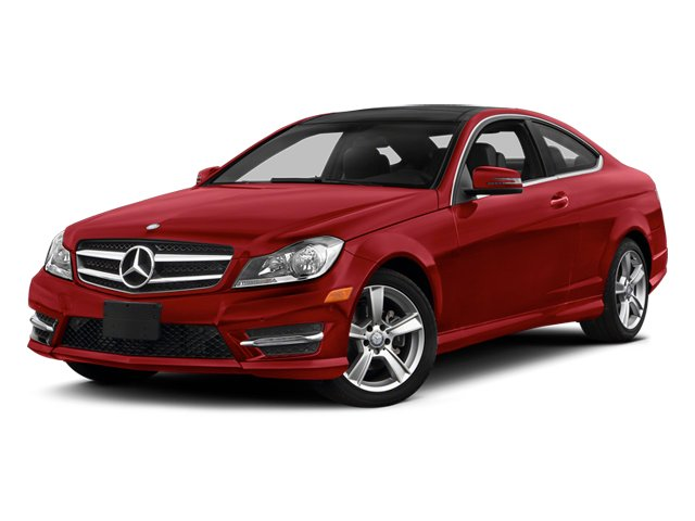 Mars Red 2014 Mercedes-Benz C-Class Pictures C-Class Coupe 2D C250 I4 Turbo photos front view