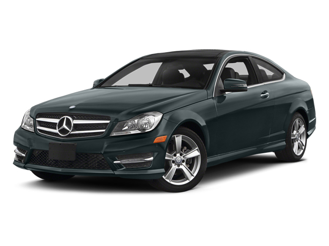 Steel Gray Metallic 2014 Mercedes-Benz C-Class Pictures C-Class Coupe 2D C250 I4 Turbo photos front view