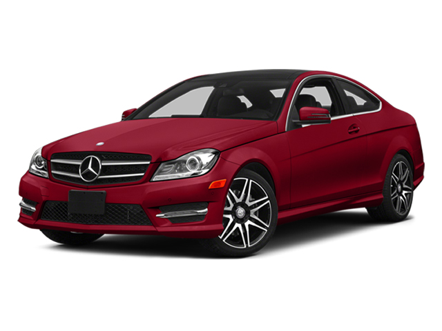Mars Red 2014 Mercedes-Benz C-Class Pictures C-Class Coupe 2D C350 V6 photos front view