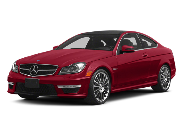 Mars Red 2014 Mercedes-Benz C-Class Pictures C-Class Coupe 2D C63 AMG V8 photos front view