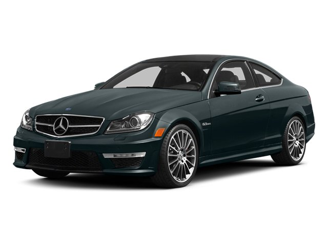 Steel Gray Metallic 2014 Mercedes-Benz C-Class Pictures C-Class Coupe 2D C63 AMG V8 photos front view