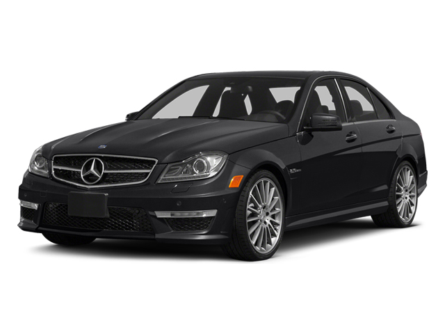 Black 2014 Mercedes-Benz C-Class Pictures C-Class Sport Sedan 4D C63 AMG photos front view
