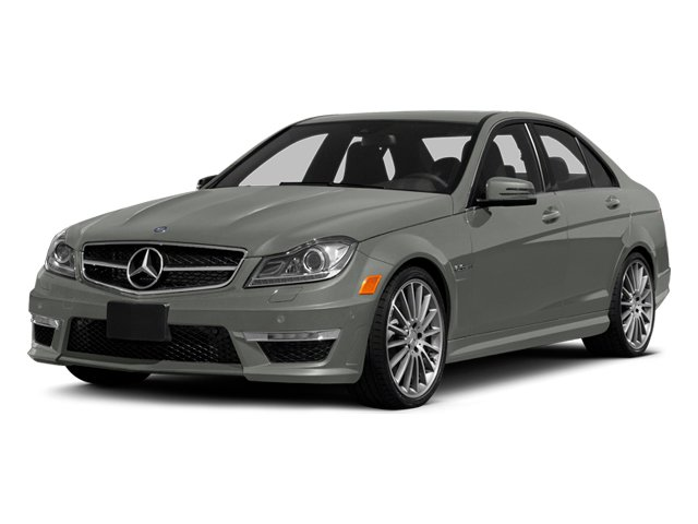 designo Magno Platinum (Matte Finish) 2014 Mercedes-Benz C-Class Pictures C-Class Sport Sedan 4D C63 AMG photos front view