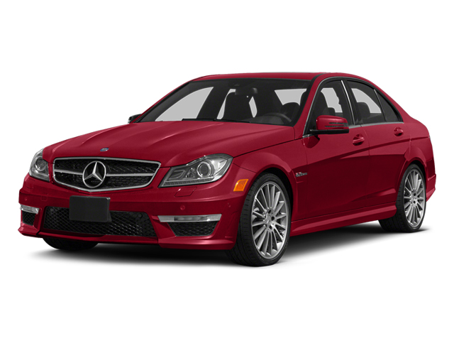 Mars Red 2014 Mercedes-Benz C-Class Pictures C-Class Sport Sedan 4D C63 AMG photos front view