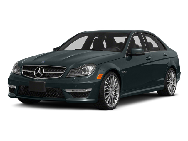 Steel Gray Metallic 2014 Mercedes-Benz C-Class Pictures C-Class Sport Sedan 4D C63 AMG photos front view