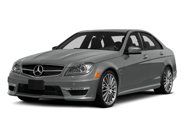 Palladium Silver Metallic 2014 Mercedes-Benz C-Class Pictures C-Class Sport Sedan 4D C63 AMG photos front view