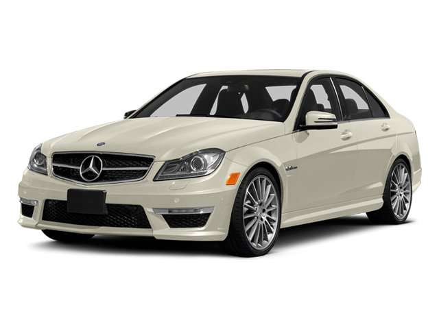 Diamond White Metallic 2014 Mercedes-Benz C-Class Pictures C-Class Sport Sedan 4D C63 AMG photos front view