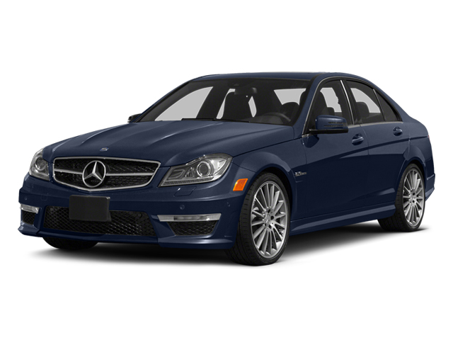 Lunar Blue Metallic 2014 Mercedes-Benz C-Class Pictures C-Class Sport Sedan 4D C63 AMG photos front view