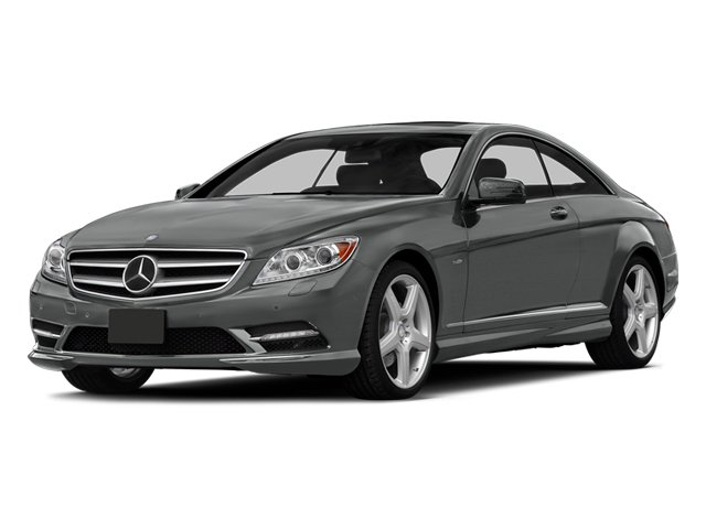 Palladium Silver Metallic 2014 Mercedes-Benz CL-Class Pictures CL-Class Coupe 2D CL550 AWD V8 Turbo photos front view