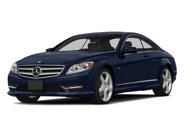 Lunar Blue Metallic 2014 Mercedes-Benz CL-Class Pictures CL-Class Coupe 2D CL550 AWD V8 Turbo photos front view